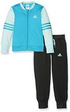 Vêtements survêtements bleus en polyester pour fille de 2 à 16 ans