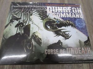 Dungeons & Dragons DUNGEON COMMAND Curse of UNDEATH Miniatures Faction Pack NEW