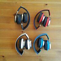 D-510 Wireless Bluetooth Over Ear Headphones Mic, Phone control, FM Radio + MP3