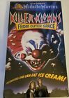 Killer Klowns From Outer Space [VHS] NEW FACTORY SEALED!!! cult classic