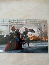 More details for the avengers chris hemsworth/chris evans    11x8 photo