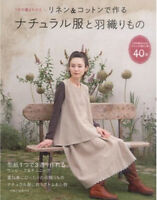 Natural clothes made with linen & cotton Japanese Craft Book、、