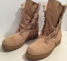 Wellco US Army Desert Tan Hot Weather Combat Boots Men's 8.5 M