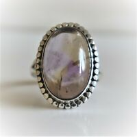 AMETRINE NATURAL GEMSTONE RING 925 STERLING SILVER HANDMADE JEWELRY RING 3 TO 12