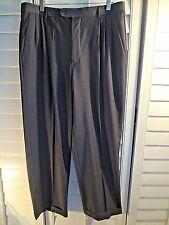 ZANELLA Platinum Neiman Marcus Loro Piana Super 110's Wool Dress Pants 34x31