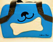 BAG Pet CARRIER Grocery BLUE Bike Dog Cat PANNIER Shoulder Strap TOTE Bed LOTUS