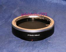 Pentax 645(645N/Z/D)Lens to Nikon F Camera adapter D600 D7100 D3100 D610 D200