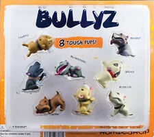 Hey Homies complete set of 8 Bullyz Dog figures in vending display
