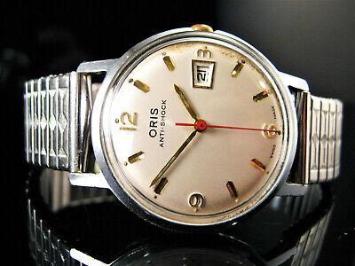 1960's Genuine Vintage Retro ORIS 654 KIF 33mm Men's Watch