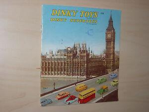 Original Vintage 1958 Meccano Ltd Dinky Toys & Supertoys Catalog UK Gulliver