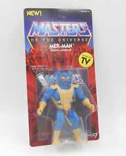 MotU Masters SUPER 7 WAVE 3 - MER-MAN Action Figure unpunched MOC Neu/OVP