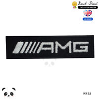 AMG Car Brand Logo Embroidered Iron On Sew On Patch Badge For Clothes etc