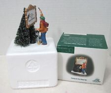 Dept 56 Heritage Village Painting Your Own Village Sign w Box MINT! 1986-2008