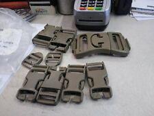 Molle ILBE Buckle Repair Set Kit DCU Desert Tan Nexus Fastex Coyote MILITARY