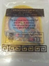 Mint and sealed Mcdonalds 1996 Hamburglar and Willy Olympic game