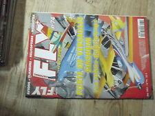 $$y Revue Fly International N°74 Plan encarte Hirondelle  Fokker DVII  Corsair