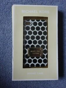 Michael Kors - iPhone 4S Snap on Phone Case , Brown Spots - New
