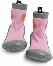 Turtl Tots Toddler Baby Girl First Walker Socks In a Shell Shoes Pink ChooseSize