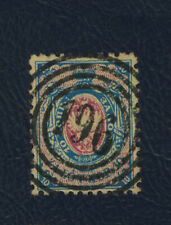 Poland first stamp, 1860 Fi:# Dobre 196 used