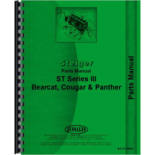 Parts Manual For Steiger Bearfits Fits Cat Tractor St Series Iii