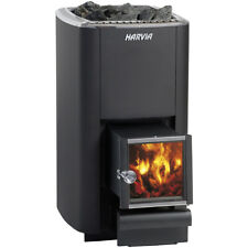 Sauna Wood Burning Stove and Fireplace Harvia M3 SL, for rooms with V 6 - 13 m3