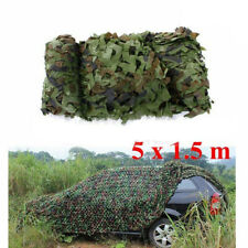5mx1.5m Camouflage Net Camo Hunting Shooting Hide Army Camping Woodland Netting