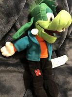 """Walt Disney GOOFENSTEIN Plush Frankenstein Goofy Halloween 9"""" Bean Bag Toy"""