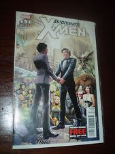 ASTONISHING X-MEN #51 RARE NEWSSTAND VARIANT EDITION MARVEL'S FIRST GAY ISSUE