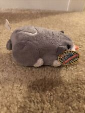 Zhu Zhu Pets Hamster Num Nums Gray and White HEART