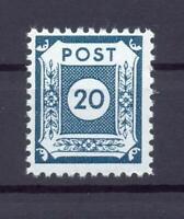 SBZ 48 DI c 20 Pfg. Postmeistertrennung Coswig postfrisch gepr. Ströh (xs60)