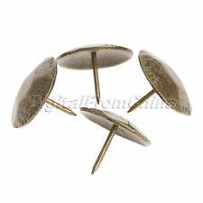 50Pcs Bronze Honeycomb Upholstery Nails Tacks Studs Pins Furniture Decorative