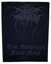 OFFICIAL LICENSED - DARKTHRONE - TRUE NORWEGIAN BLACK METAL SEW ON BACK PATCH
