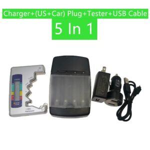 USB SMART BATTERY CHARGER LR03  AA LR6 AAA  LR61 AAAA ALKALINE 1.5V RECHARGEABLE