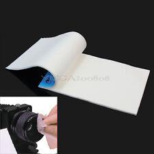 100X Papel Limpieza Toallitas Para Cámara Digital Lente Objetivo Microscopio