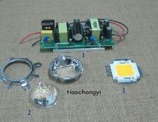 100w High Power Led Led Driver 44mm Lens Reflector Bracket For Diy Led Kit