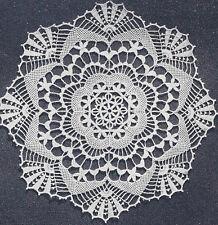 Vintage Crochet PATTERN to make Cluny Lace Doily Centerpiece Mat ClunyClassic