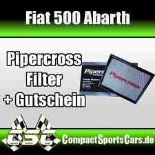 FIAT 500 Abarth |1.4 Turbo| Pipercross Sportluftfilter/Tauschfilter ÖLFREI
