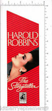5581 Harold Robbins c 1990 bookmark, The Storyteller, Spellbinder, The Betsy