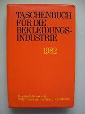 Taschenbuch für die Bekleidungsindustrie 1971 Mode Bekleidung Schneiderei