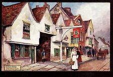 Tuck Picturesque Counties art signed Jotter street Edgware Middlesex Uk postcard