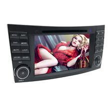 Car DVD GPS WiFi 3G 4-Core Android 7.1 for BENZ E/CLS/G Class W211 W219 4501US