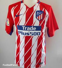 ATLETICO MADRID Official Nike Home Football Shirt 2017-2018 NEW Jersey Camiseta