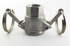 """Camlock (Raccords à came) Type D Inox 1/2"""" BSP"""