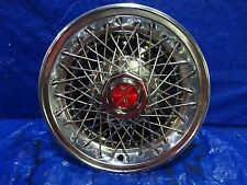 "1980 1981 Pontiac Grand Prix Le Mans 14"" SPOKE  Wire Hubcap Wheel cover"
