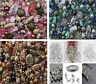 1200 vermischt Tüte Perlen für die Schmuckherstellung & 350 Zubehör - aus Ösen