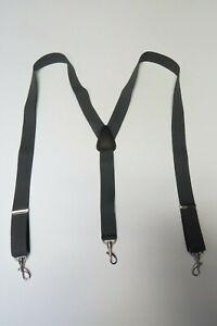 "Suspenders Metal SNAP-ONS- BELT LOOPS 1-1/4"" Y Style. Many Colors. MADE IN USA"