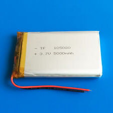 3.7V 5000mAh LiPo Battery For Tablet PC DVD Power Bank Mobile Phone PAD 105080