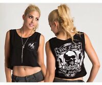 Metal Mulisha Ladies Grim Tank Size S