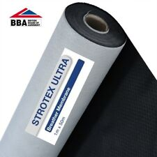 1M x 50 M  Roof Roofing Breathable Felt Strotex Ultra Breathable Membrane