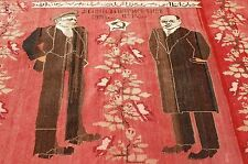 Ci 1910s ANTIQUE CAUCASIAN GHARABAGH_KARABAKH RUG 4.8x6.5 LENIN SOVIET UNION